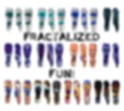 Fractalized Fun Leggings