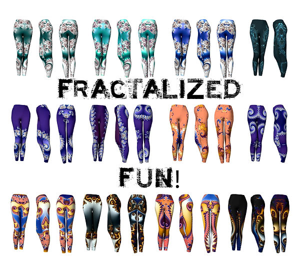Fractalized Fun Leggings