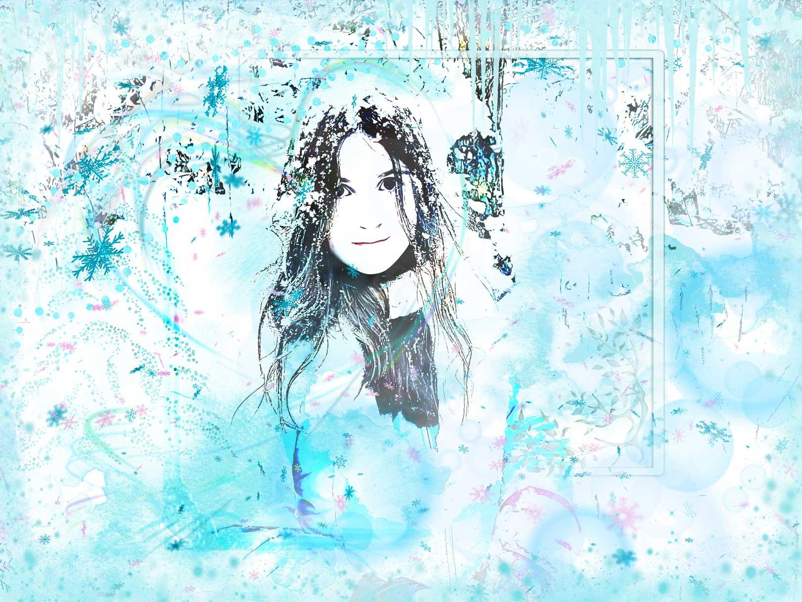 Lauren in Winter