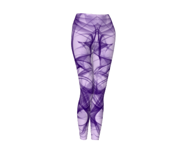 Purple Wisp leggings