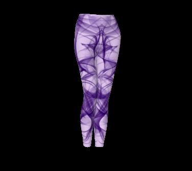 Purple Wisp leggings
