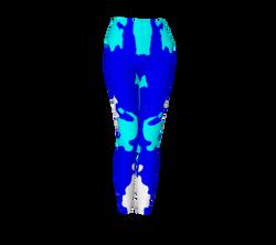 Blue Blotch Leggings