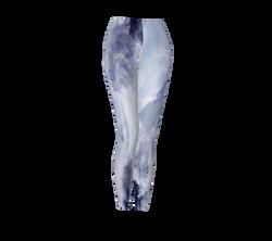 Blue Paint Leggings