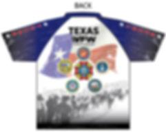 2020 Texas VFW Bataan March shirt BACK.j