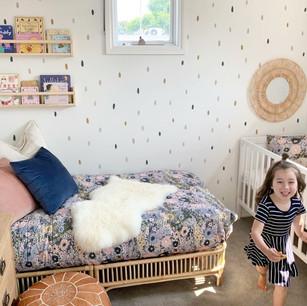 Nursery design + styling.