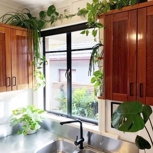 Kitchen organisation + styling.