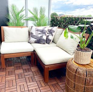 Balcony design + installation.