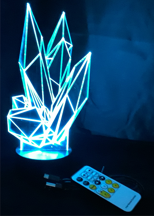 Crystal LED Lamp