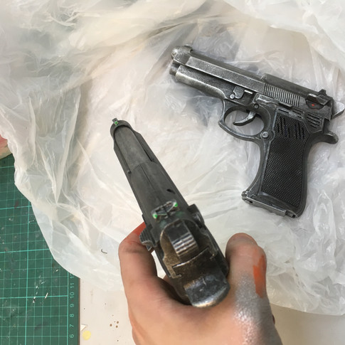 Painted guns 3