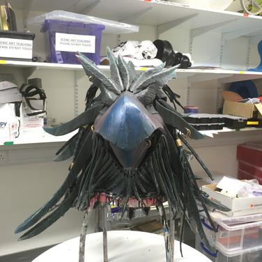 Bird head front