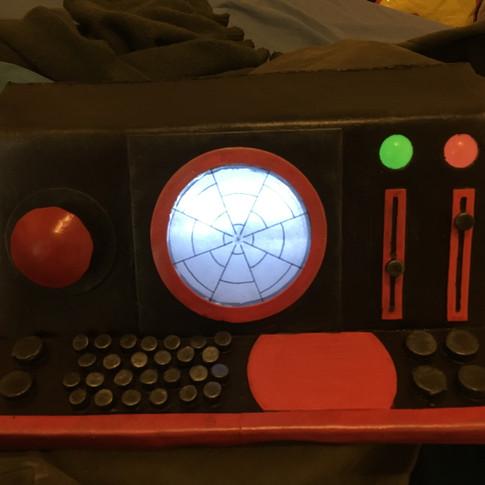 Magic console lit up