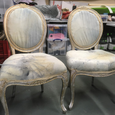 Pool of Bethesda Chairs finished
