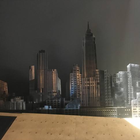 City scape installed
