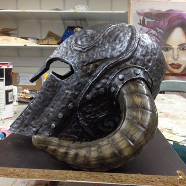Helmet side