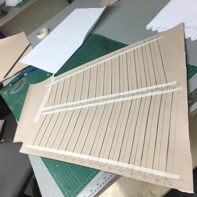 Cutting Bellows pattern