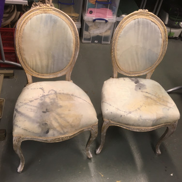 Pool of Bethesda Chairs finished 2