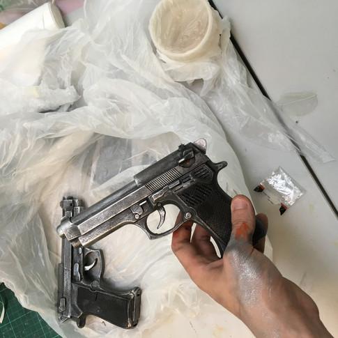 Painted guns  2