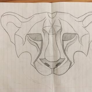 Mask drawing