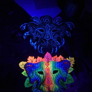 Masks under UV