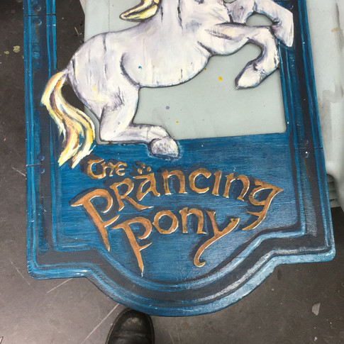 Finished painted sign 2