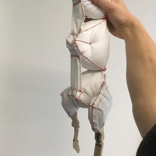 Rabbit body with legs 2