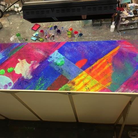 Band box floor