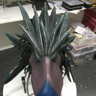 Bird head top