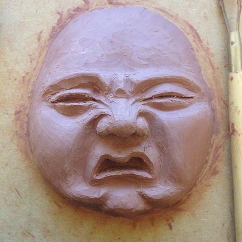 Baby face sculpt