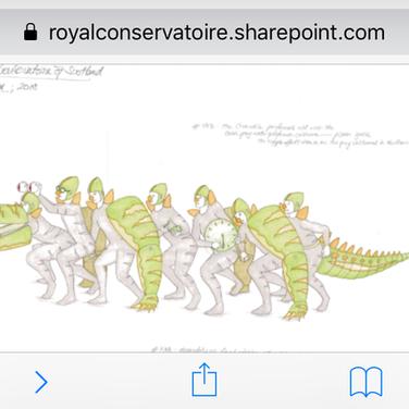 Crocodile Design 1