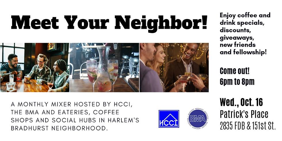 Meet Your Neighbor - Networking Event