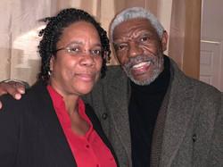 Vonde Curtis Hall with Arlene