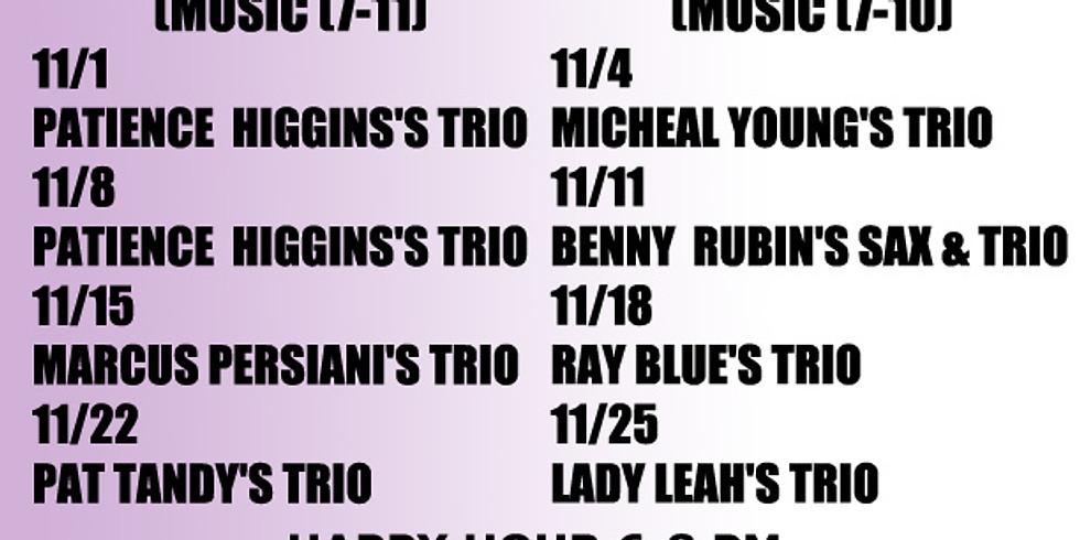 Friday Night Jam - Patience Higgins Trio