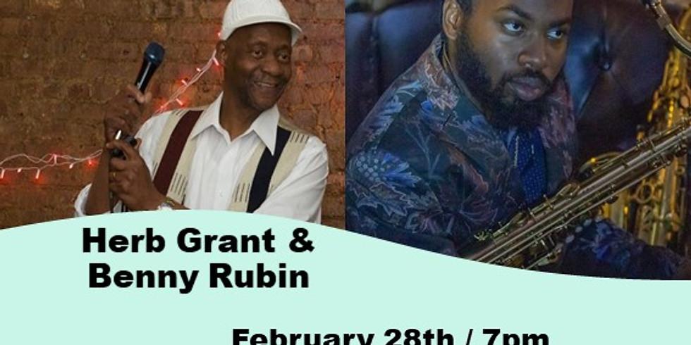 Herb Grant and Benny Rubin