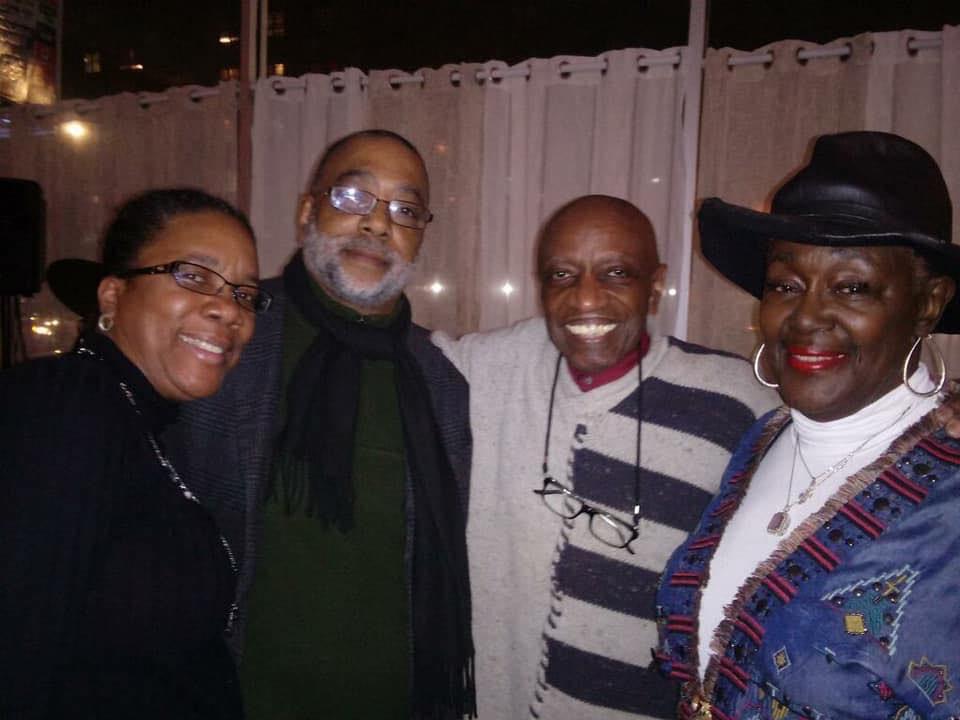 Arlene, Patrick, Reggie, Berta