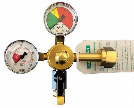 REGULADOR DE PRESSÃO PARA CO2 / CHOPP 1 VIA