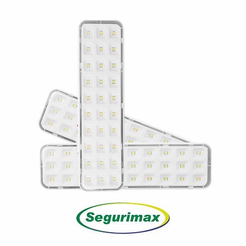 LUMINÁRIA DE EMERGÊNCIA 30 LEDS / 100 LÚMENS – SEGURIMAX