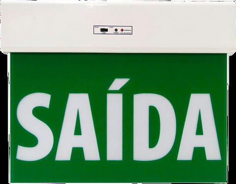 BALIZAMENTO DE SAÍDA DE EMERGÊNCIA