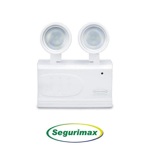 LUMINÁRIA BLOCO FAROLETE 2 FARÓIS / 200 LÚMENS – SEGURIMAX
