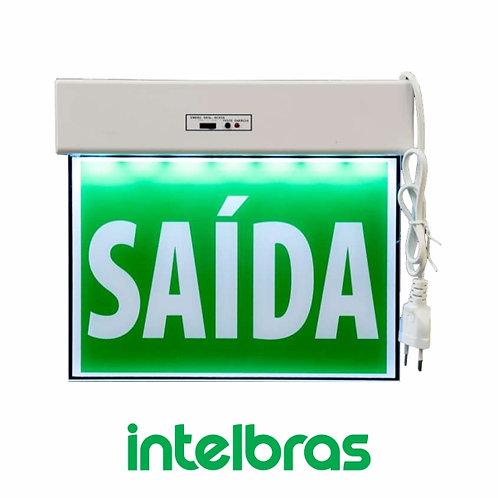 BALIZAMENTO DE SAÍDA DE EMERGÊNCIA/ 24X18CM – INTELBRAS