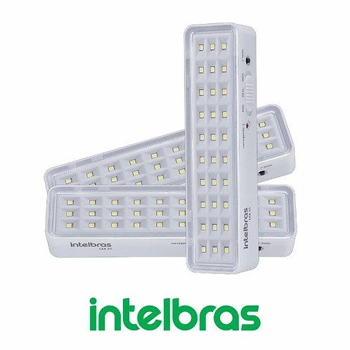 LUMINÁRIA DE EMERGÊNCIA 30 LEDS SLIM / 100 LÚMENS – INTELBRAS