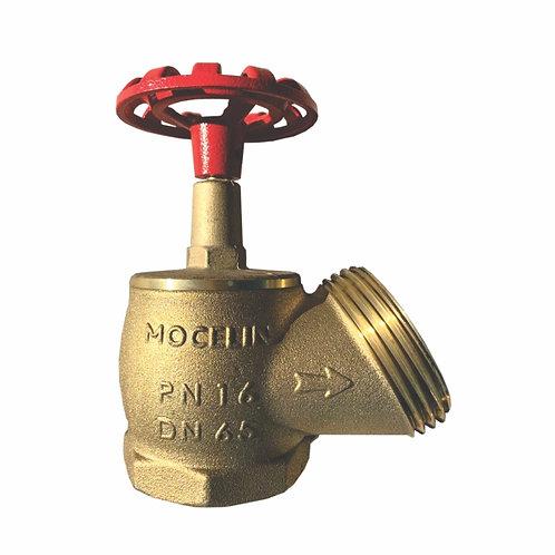 REGISTRO GLOBO ANGULAR 220 LBS PN16 MOCELIN