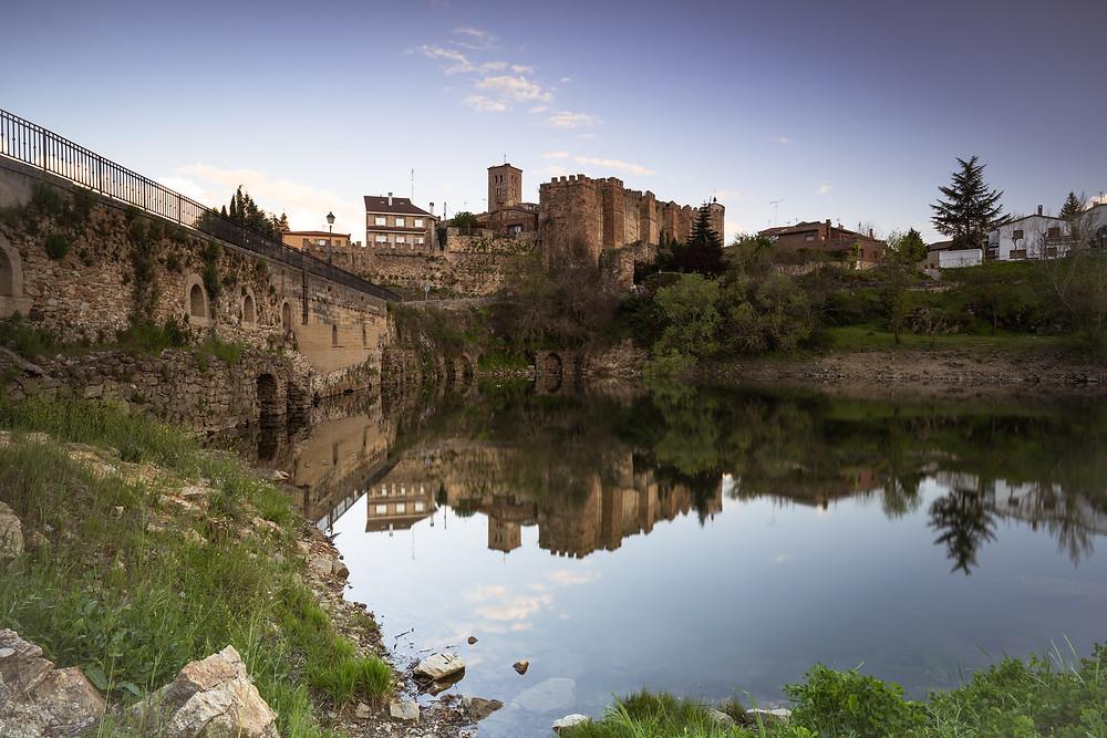 Castle in Buitrago del Lozoya