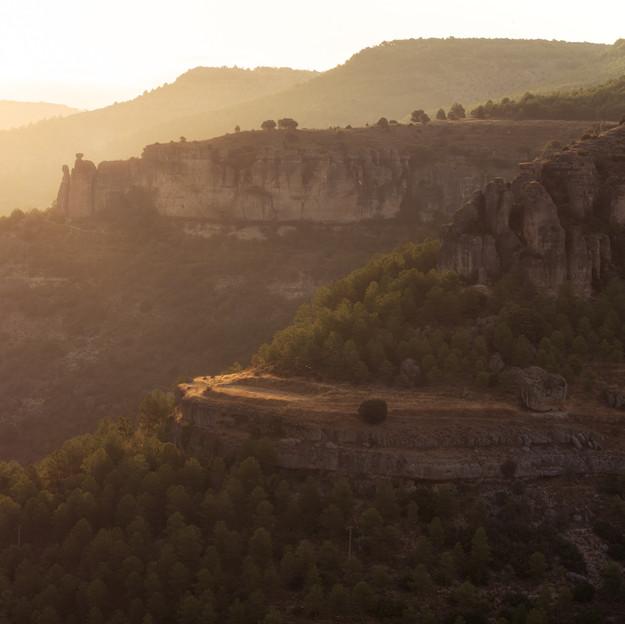 Golden Light Of Cuenca