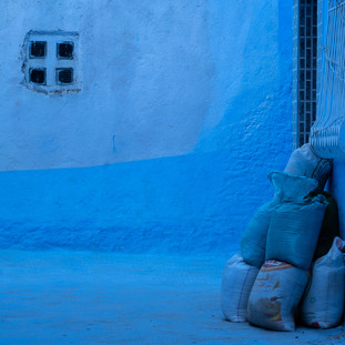 Chefchaouen Blues. Morocco. Copyright © JZeppelina