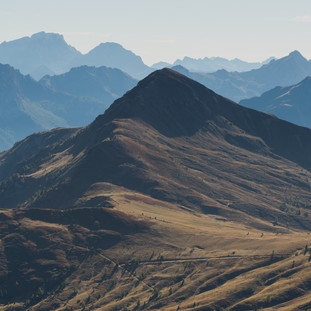 On Top Of The World. Dolomites. Italy. Copyright © JZeppelina