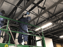 Combustible Dust Cleaning