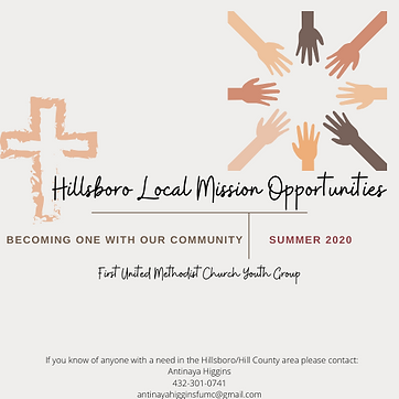 Hillsboro Local Mission Opportunities.pn