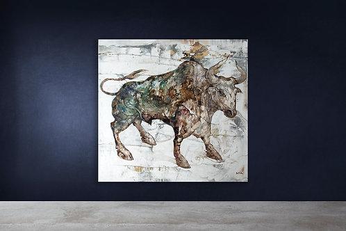 White Metal Ox