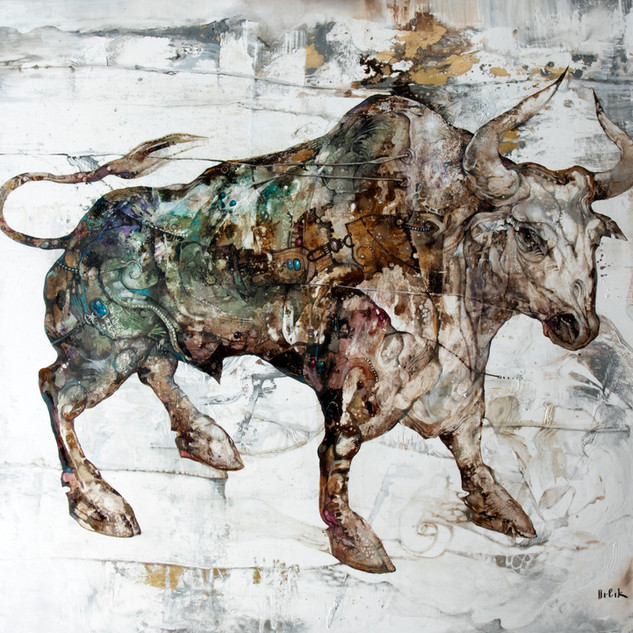 White Metal Ox