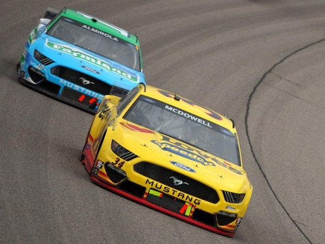 McDowell Finishes 16th and Alfredo 38th at Kansas Speedway